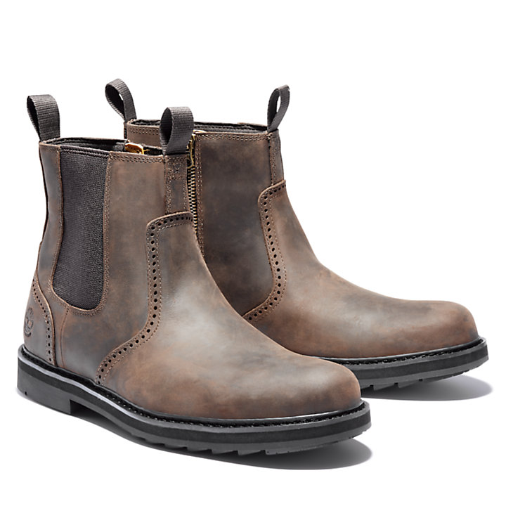 Stivaletto Chelsea da Uomo Squall Canyon in marrone scuro-