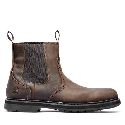 Squall+Canyon+Chelsea+Boot+for+Men+in+Dark+Brown