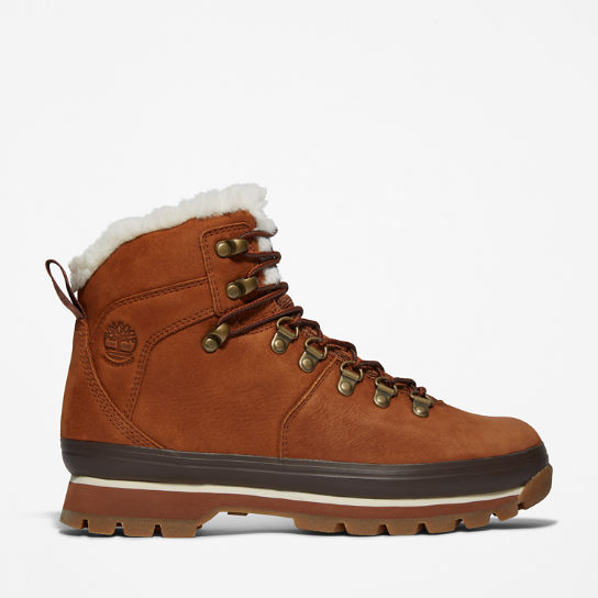 Euro Hiker Lined Boot for Women in Brown | Timberland