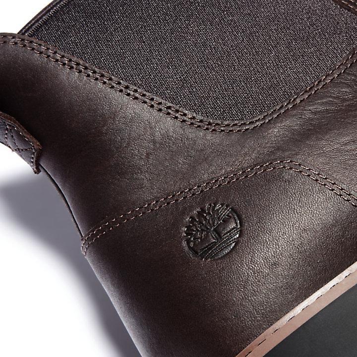 Bota Chelsea Stormbucks para hombre en marrón oscuro-