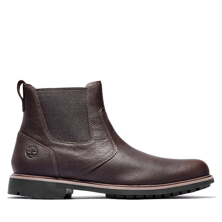 Stormbucks Chelsea Boot for Men in Dark Brown-
