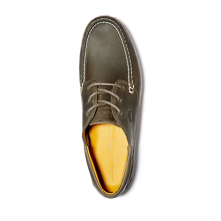 Jackson's Landing Moc-Toe Oxford for Men in Greige-