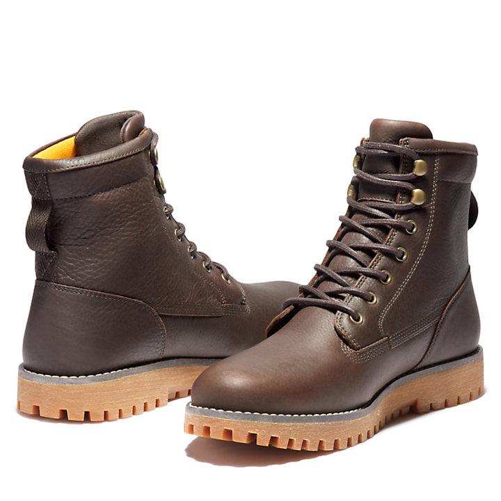 Jackson's Landing Plain-Toe Boot for Men in Dark Brown-