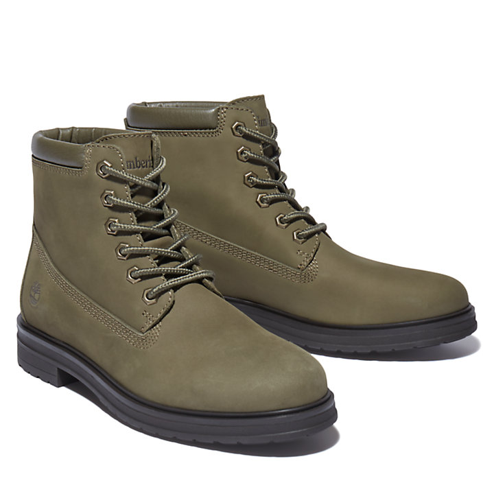 Hannover Hill 6 Inch Boot for Women in Dark Green-