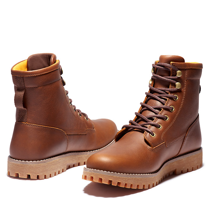 Jackson's Landing Plain-Toe Boot for Men in Brown-