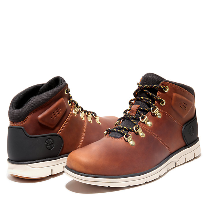Bradstreet Mid Hiker Boot for Men in Light Brown-