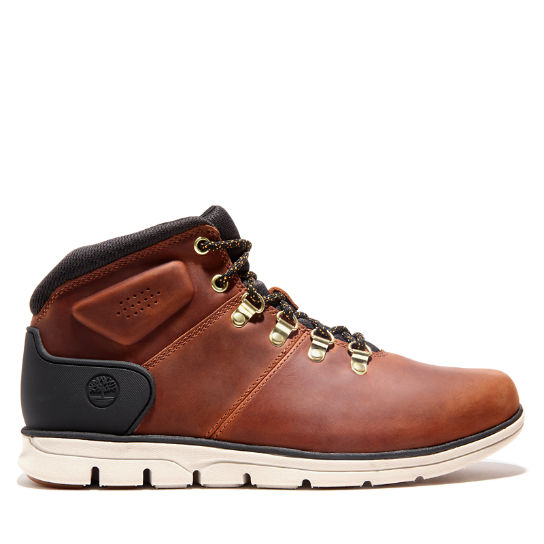 Bradstreet Mid Hiker Boot for Men in Light Brown | Timberland