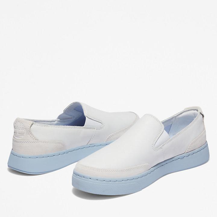 Zapatilla Atlanta Green para mujer en blanco/azul-