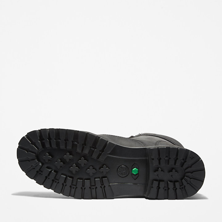 Rugged Waterproof II 6 Inch Boot for Men in Black-