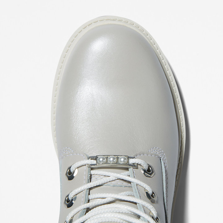 6-inch Boot Timberland® Heritage pour femme en gris clair-