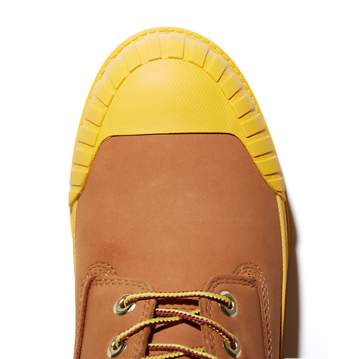 Beeline x Timberland® 6 Inch Rubber Toe Boot for Men in Yellow-