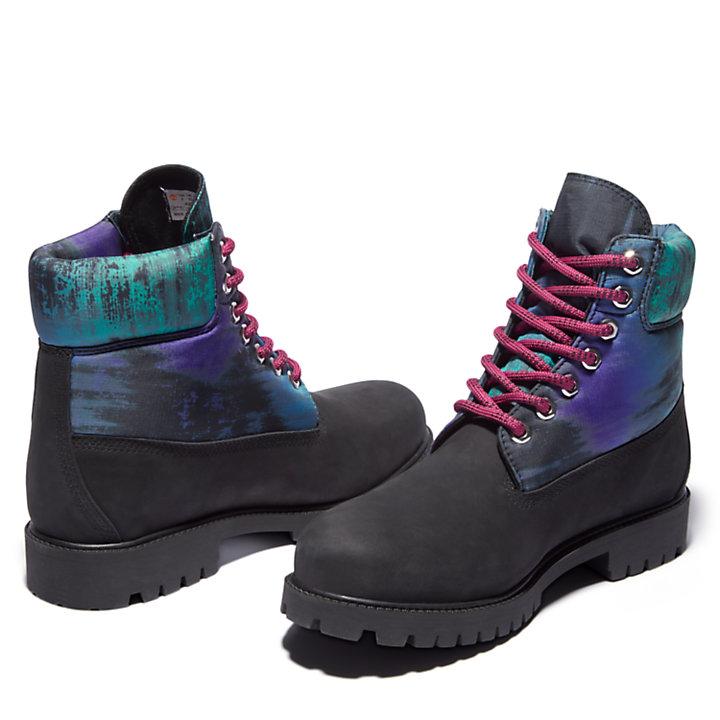 Bota 6 Inch Timberland® Heritage Northern Lights para Hombre en color negro-