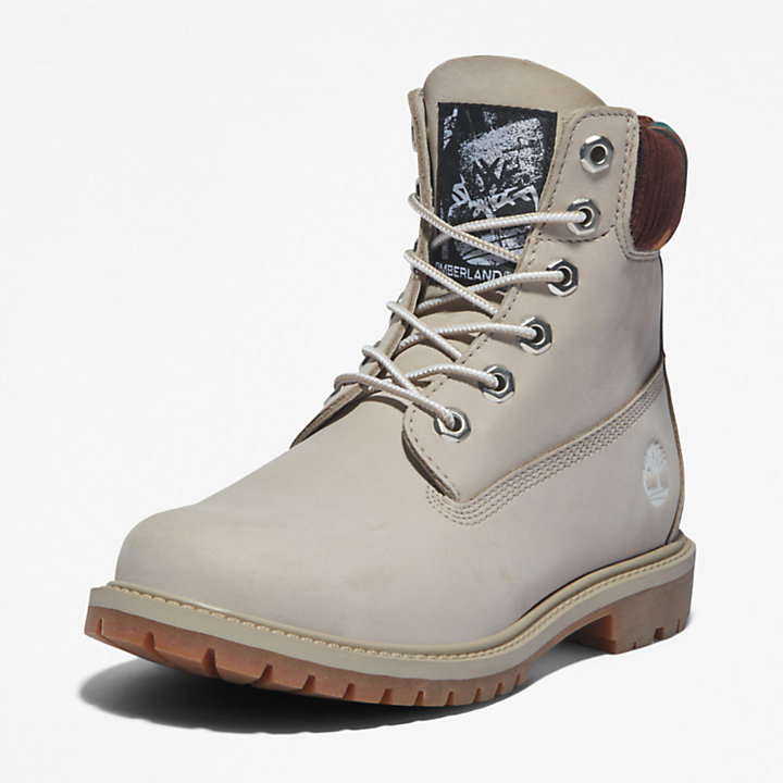 Timberland® Heritage 6 Inch Boot for Women in Beige/Camo-