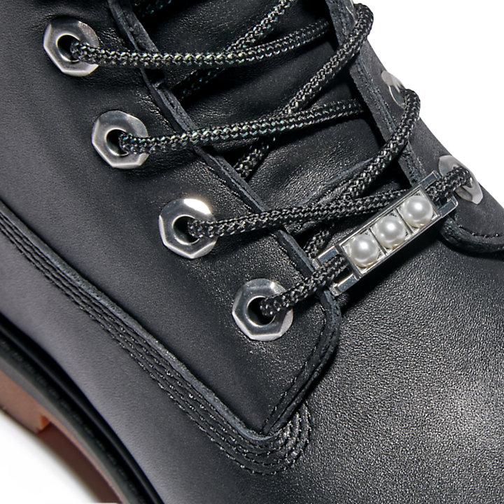 Timberland® Heritage 6-Inch-Stiefel für Damen in Schwarz/Silber-