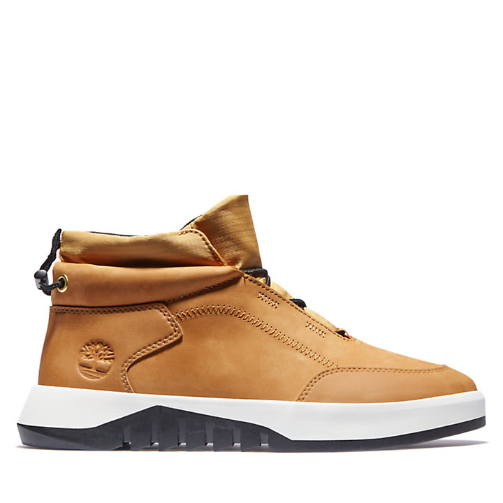 Supaway Leather Chukka for Men in Yellow-