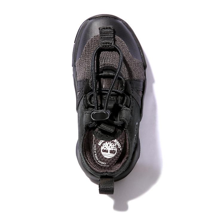 Earth Rally Sneaker for Toddler in Black-