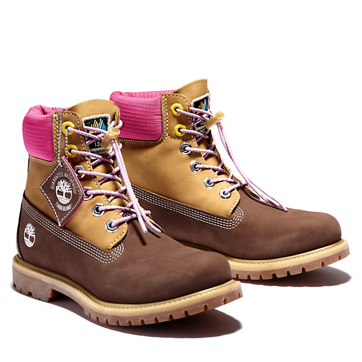Premium 6 Inch Boot for Women in Brown-