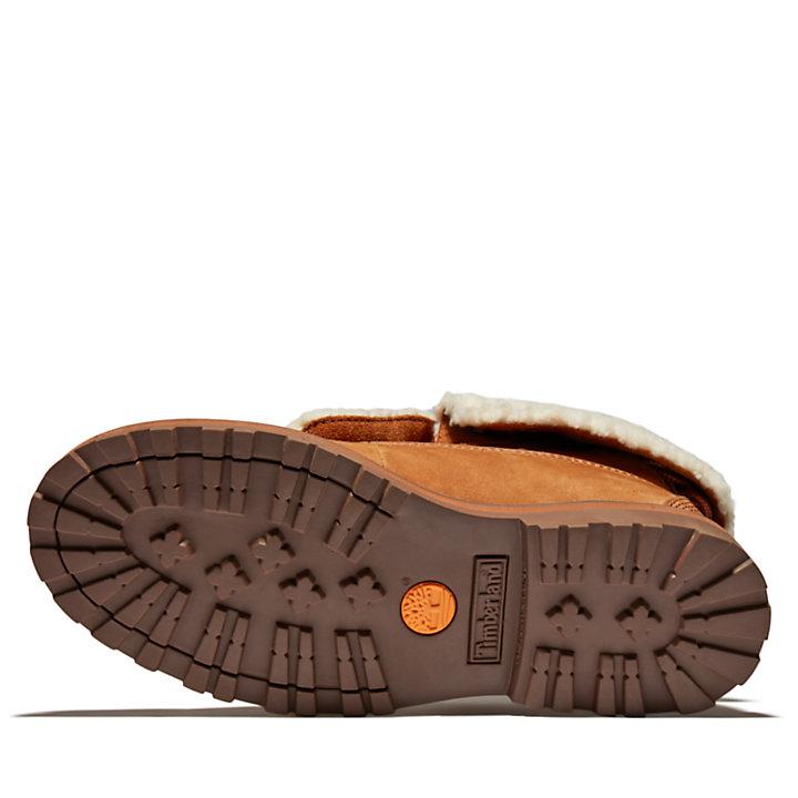 Bota con Parte Superior Enrollable Courma Kid para Niño (de 35,5 a 40) en marrón claro-