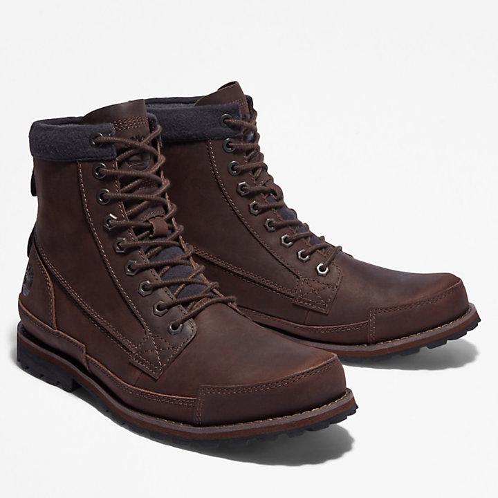 Timberland® Originals 6-Inch Lined Boot voor heren in donkerbruin-