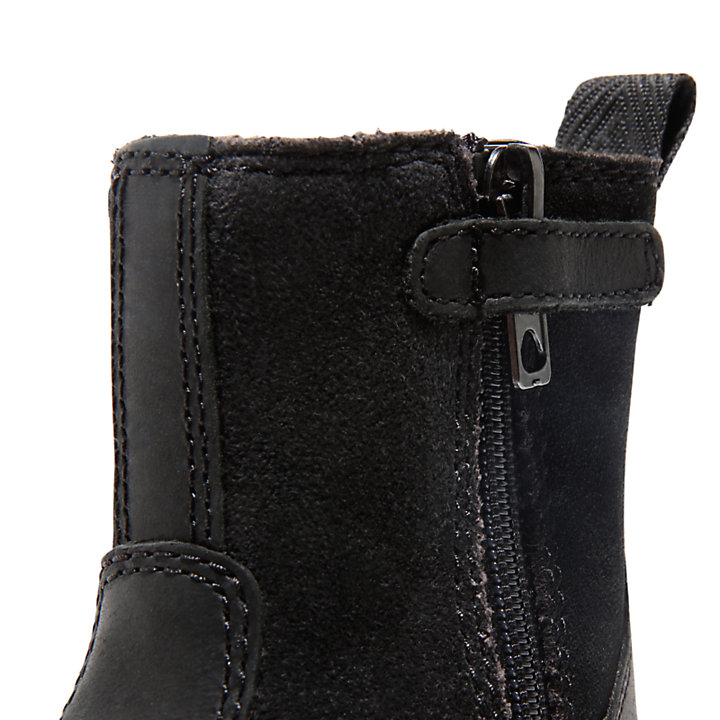 Courma Kid Warm Boot for Toddler in Black-
