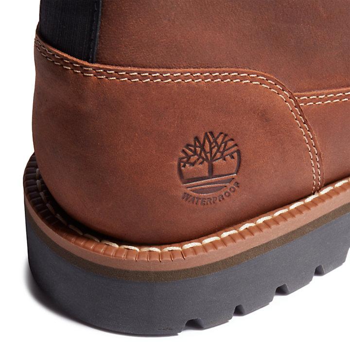 Larchmont Lined Chukka-Stiefel für Herren in Braun-