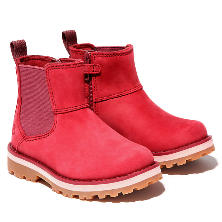 Courma Kid Chelsea Boot for Toddler in Pink-
