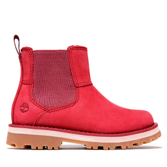 Courma Kid Chelsea Boot for Toddler in Pink | Timberland