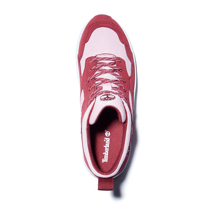 Zapatilla Bramber para niño (de 35,5 a 40) en rojo-