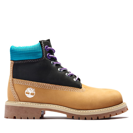 Premium 6 Inch Boot for Youth in Yellow | Timberland