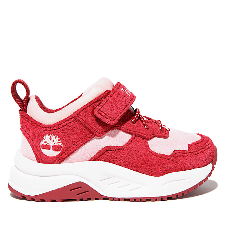 Bramber Sneaker for Toddler in Red-
