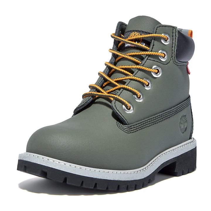 Premium 6-Inch-Stiefel für Kinder in Grün-