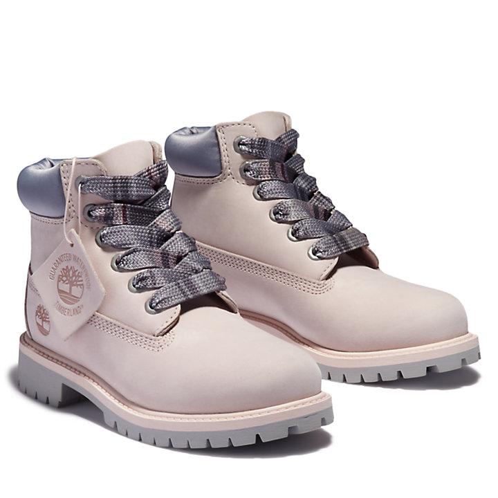 6-Inch Boot Premium pour enfant en Rose clair-