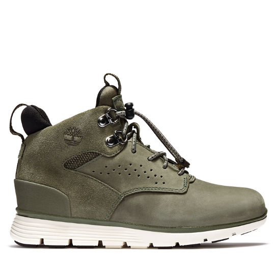 Killington Mid Hiker for Junior in Green | Timberland