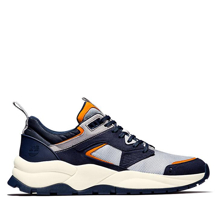 Tree Racer Mesh Sneaker for Men in Navy-