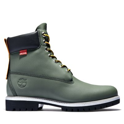 6-Inch+Boot+Heritage+Helcor%C2%AE+pour+homme+en+vert