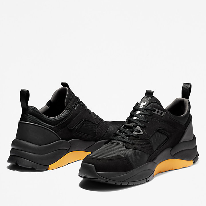 Tree Racer Mesh Sneaker for Men in Black-