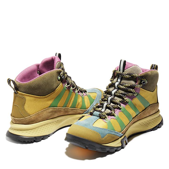 Bota de Montaña de Media Caña Garrison Trail Bee Line x Timberland® para Hombre en marrón-
