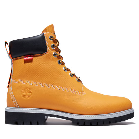Heritage 6 Inch Helcor® Boot for Men in Orange | Timberland