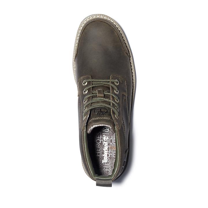 Larchmont II Leather Chukka voor Heren in grijs-beige-
