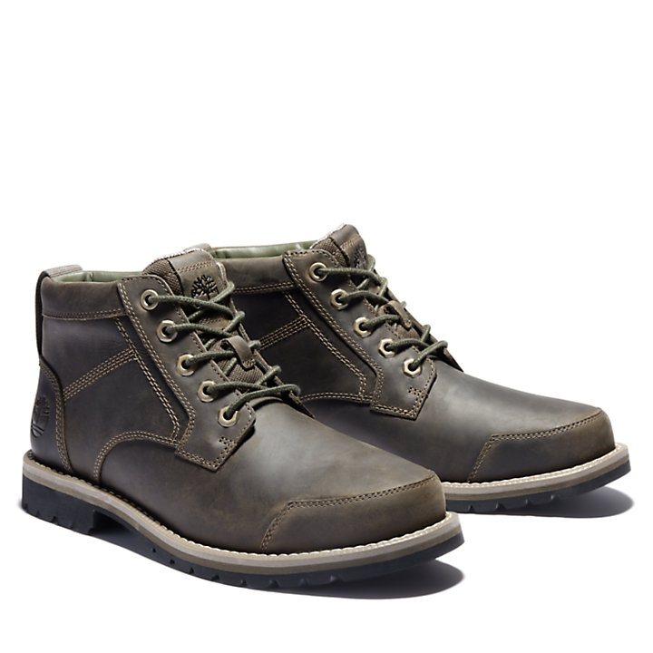 Larchmont II Leather Chukka for Men in Greige-
