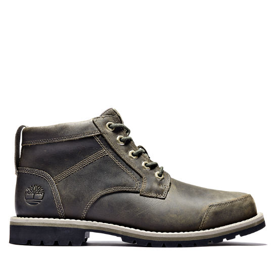 Larchmont II Leather Chukka for Men in Greige | Timberland