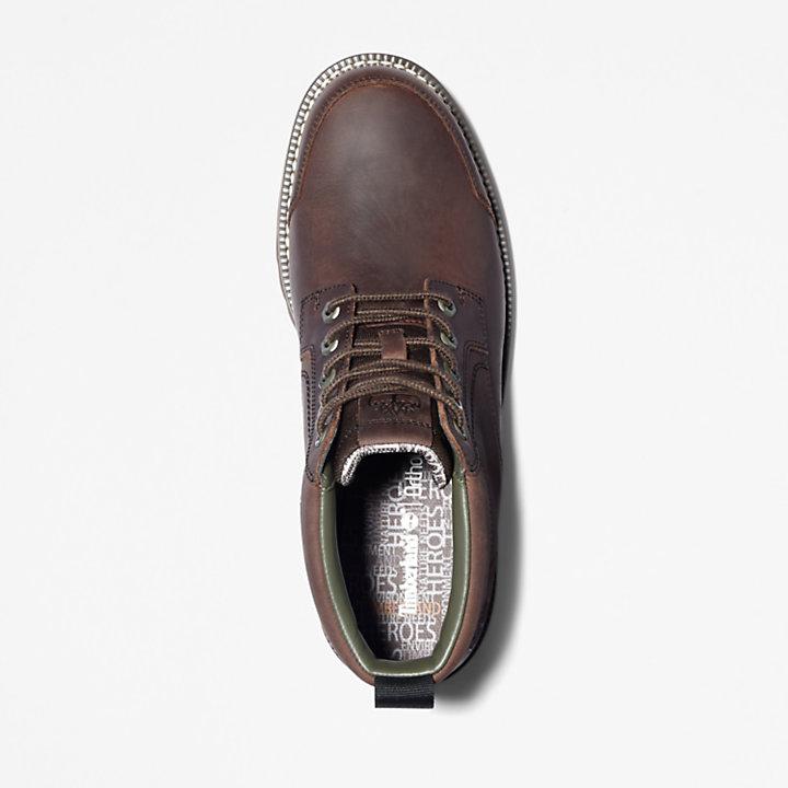 Larchmont II Chukka-Stiefel aus Leder für Herren in Dunkelbraun-