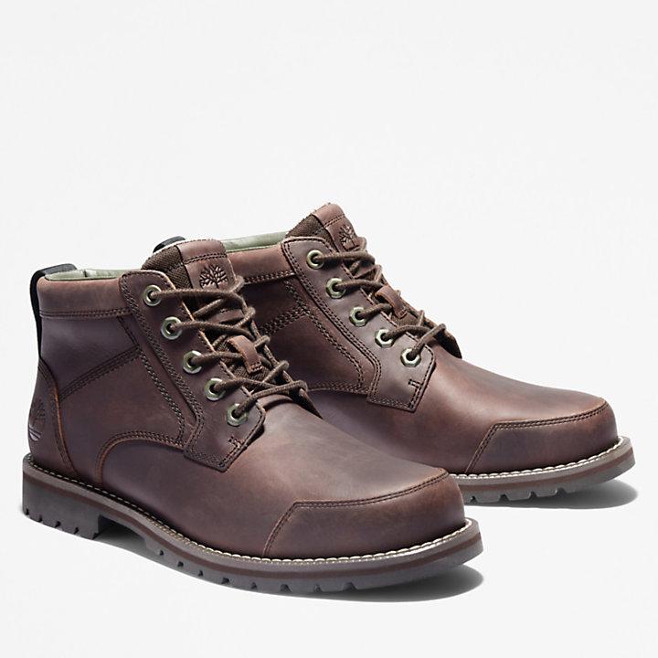 Larchmont II Leather Chukka for Men in Dark Brown-