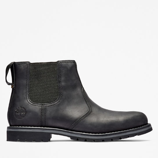 Larchmont Chelsea Boot for Men in Black | Timberland