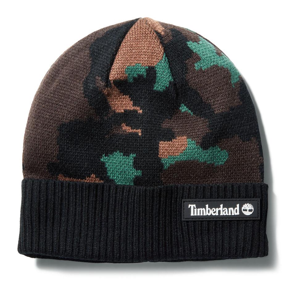 Bonnet En Jacquard Maudslay Pour Femme En Camouflage Camouflage , Taille TAILLE UNIQUE - Timberland - Modalova