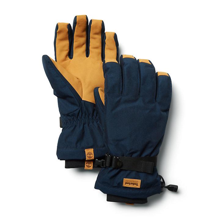 Snow Brook Pinnacle 2-in-1 Gloves for Men in Black-