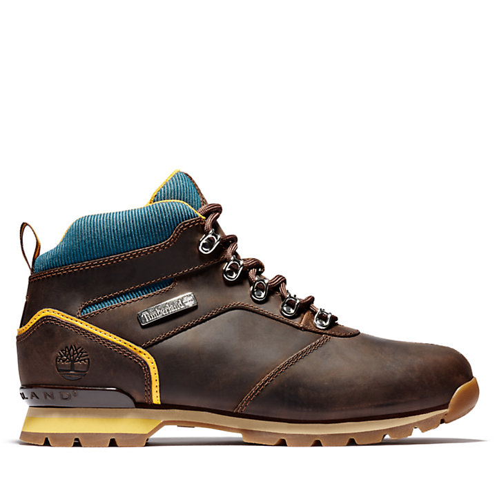 Splitrock Mid Hiker for Men in Dark Brown-