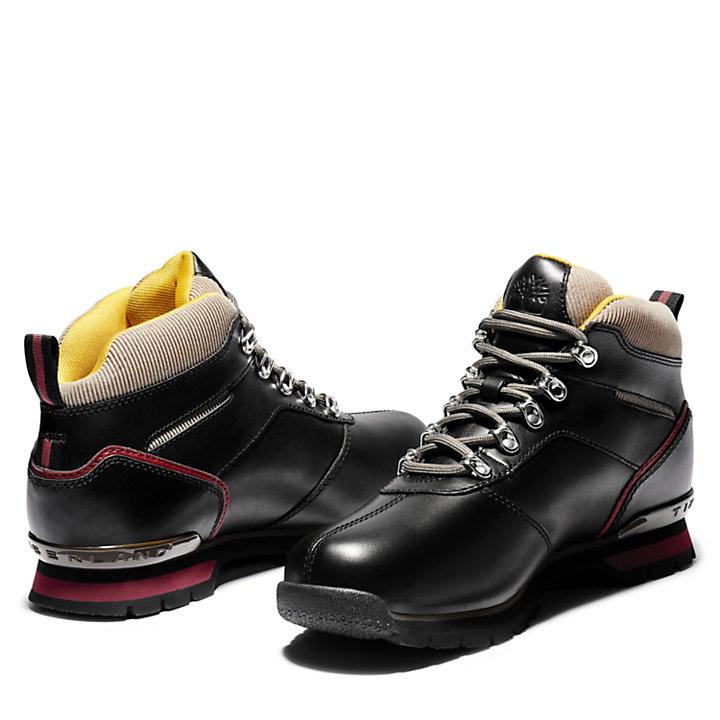 Splitrock Mid Hiker for Men in Black Monochrome-