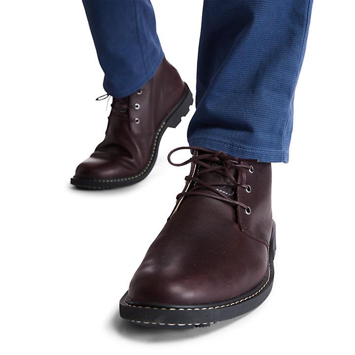 Belanger EK+ Chukka Boot for Men in Burgundy-