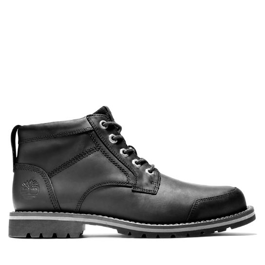 Larchmont II Leather Chukka for Men in Black | Timberland